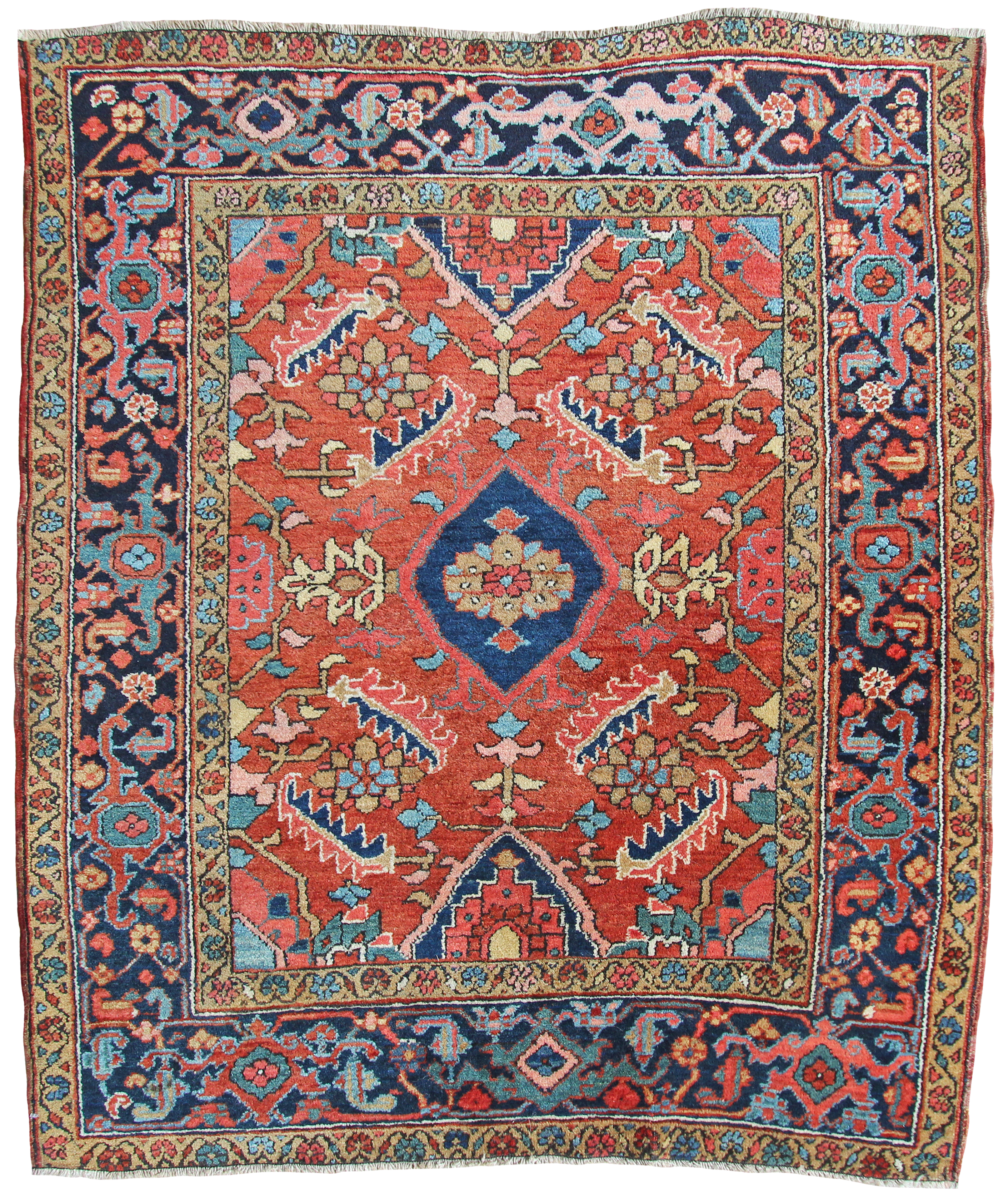 rug cottage recangle product rugs mountain mills pisgah category