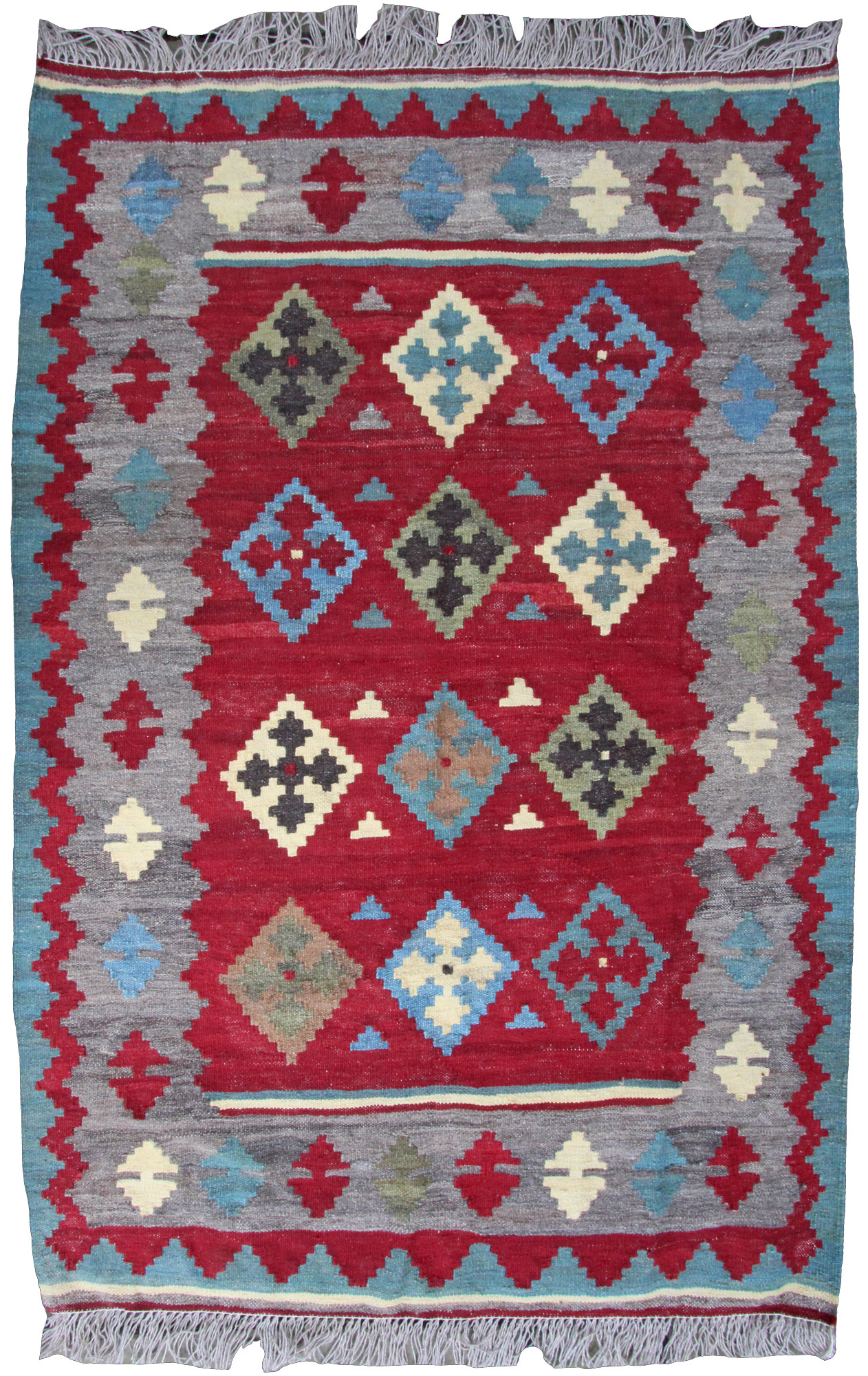 Modern Kilim Rug Farnham Antique Carpets